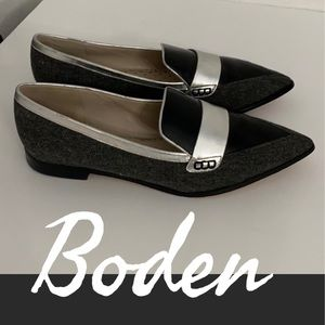 Authentic Boden leather loafers sz 10.5 Euro 42